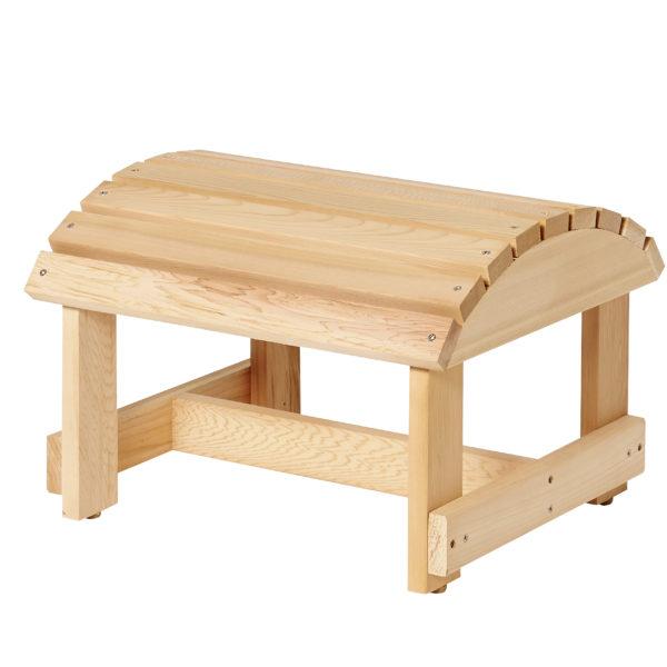 Bear Chair voetenbank BC01 schuinaanzicht
